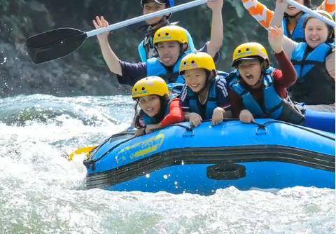 Serunya Rafting Di Sungai Elo Magelang Aman Untuk Pemula Lho Okezone Travel