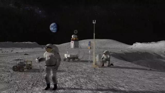 NASA Temukan Air di Permukaan Bulan