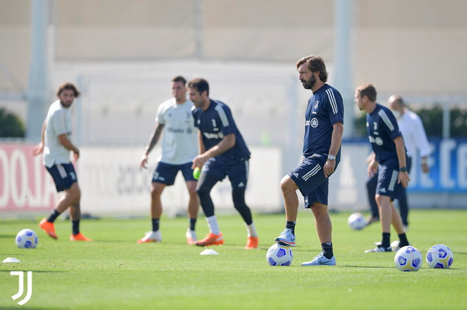 Cristiano Ronaldo Tak Ada di Sesi Latihan Juventus