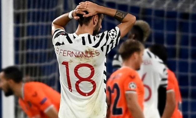 Kalah 1-2 dari Istanbul Basaksehir, Bruno Fernandes Minta Man United  Berbenah : Okezone Bola