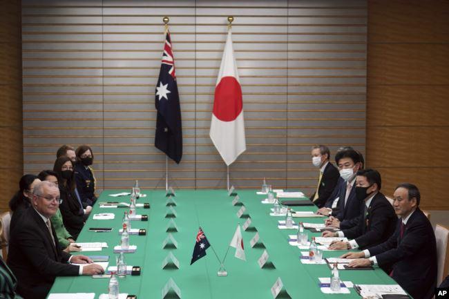 https: img.okezone.com content 2020 11 18 18 2311371 australia-jepang-tingkatkan-hubungan-pertahanan-untuk-lawan-china-DbJnbMi5xO.jpg