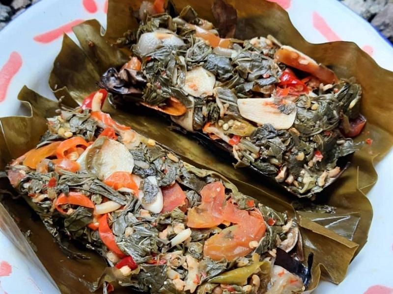 Resep Pepes Teri Daun Singkong Makan Makin Lahap Okezone Lifestyle