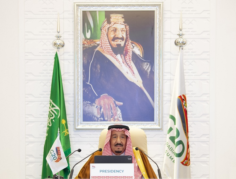 https: img.okezone.com content 2020 11 22 320 2313837 pertemuan-g20-raja-salman-perdagangan-kunci-pemulihan-ekonomi-sHWxpvZkLZ.jpg