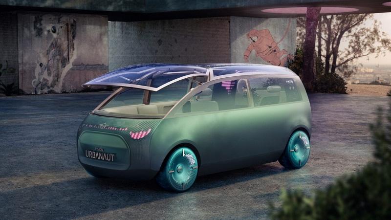 Mini Vision Urbanaut, Mobil Listrik Futuristik Buatan BMW Mini : Burkelandya Otomotif