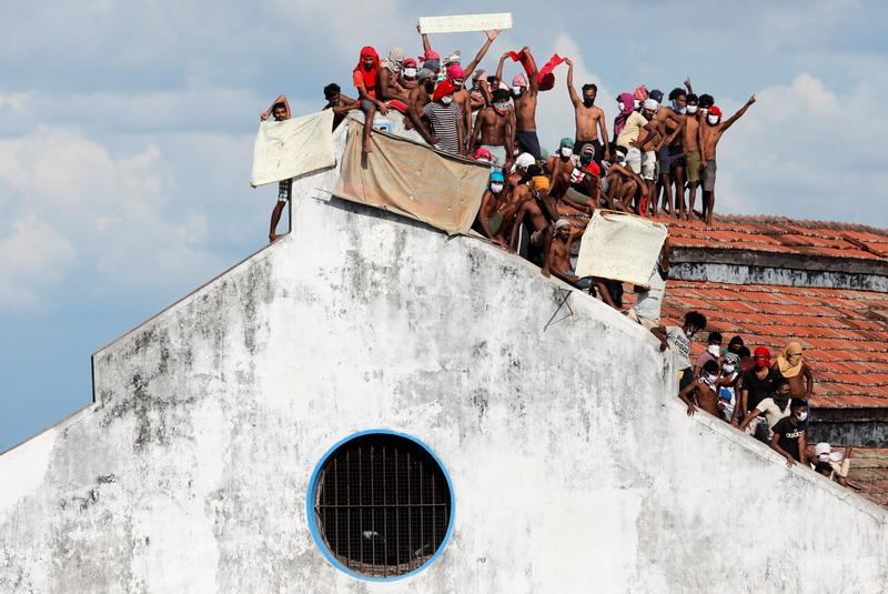 Dipicu Ketakutan Virus Corona Kerusuhan Di Penjara Sri Lanka Tewaskan 6 Orang Rcti