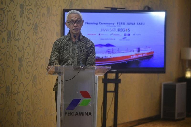 JAWA Pertamina Gelar Prosesi Penamaan Kapal FSRU JAWA SATU : Okezone Economy