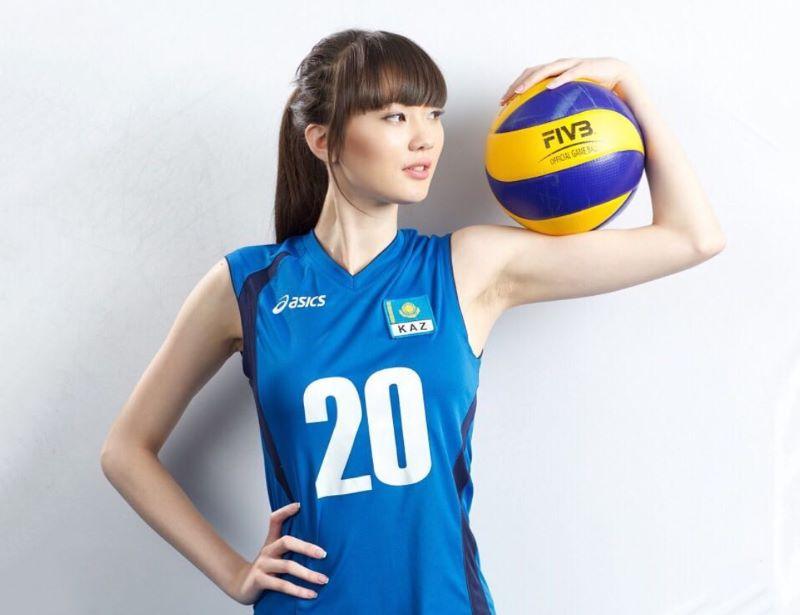 Terungkap, Ini Dia Pria Misterius yang Nikahi Pevoli Cantik Sabina Altynbekova : Burkelandya Olagraga