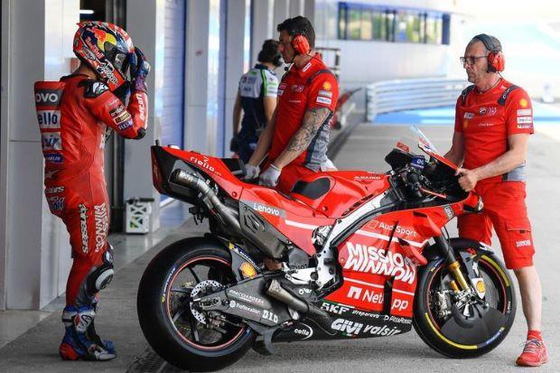 Dovizioso Akui Sempat Dianggap Remeh saat Baru Gabung Ducati : Burkelandya Olagraga