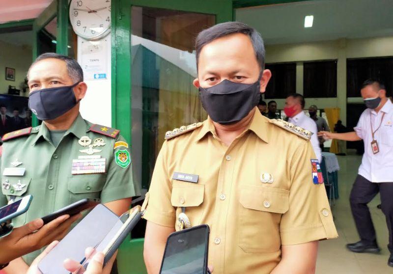 Patroli Malam Tahun Baru, Bima Arya Bubarkan Kerumunan di Kawasan Air Mancur Bogor : Okezone Megapolitan