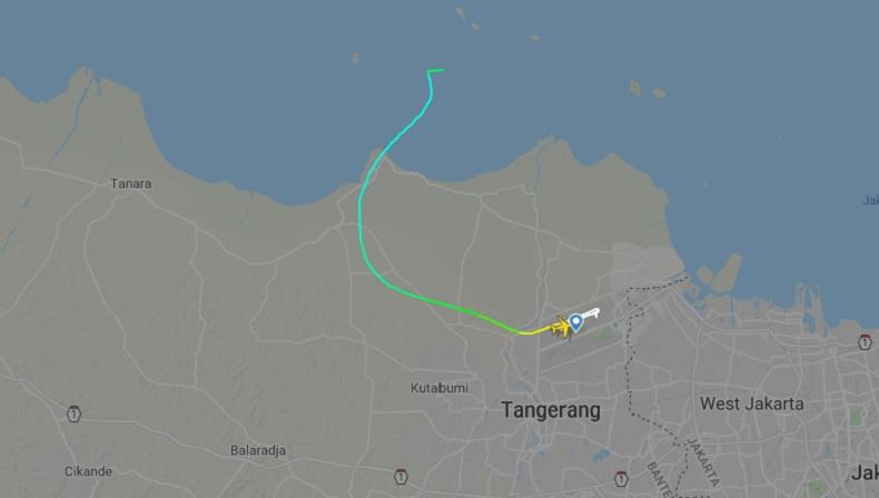 Sriwijaya Air Jatuh, Ketinggian Pesawat Berkurang 10 Ribu ...