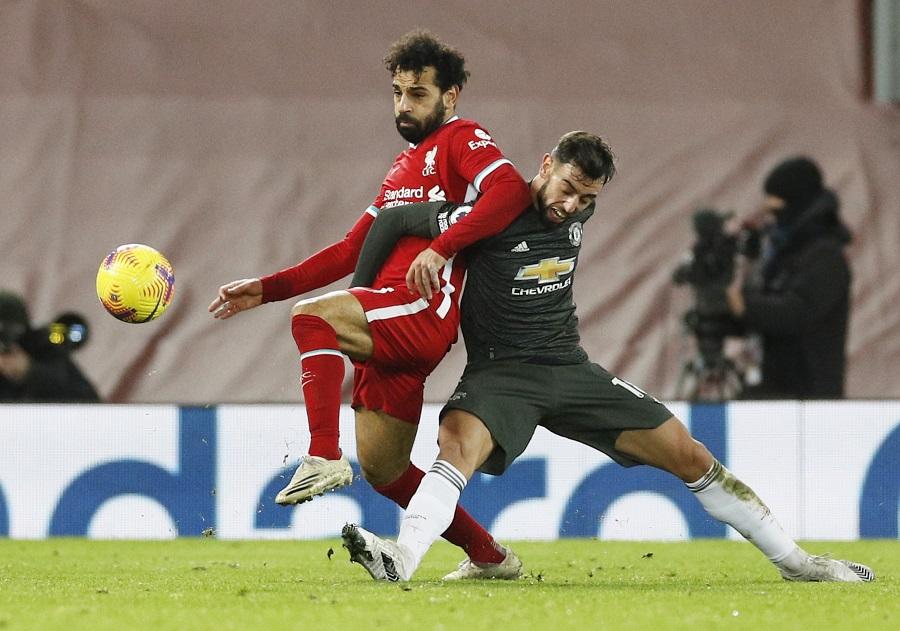 Liverpool vs Man United Imbang, The Red Devils Tetap di Posisi Pertama