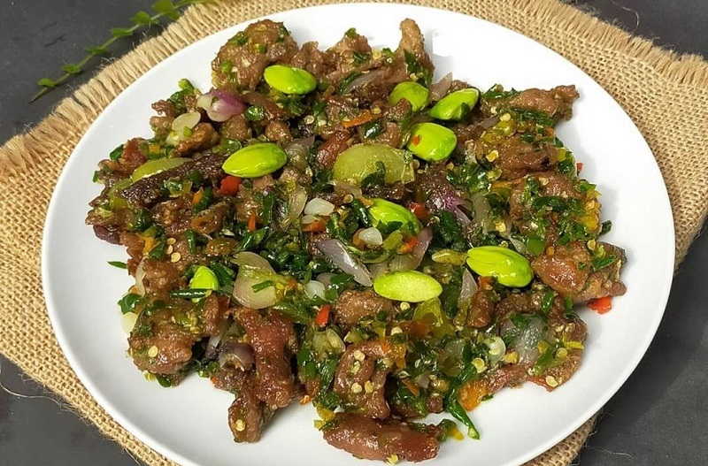 Resep Dendeng Cabe Ijo Lezatnya Bikin Makan Siang Makin Lahap Okezone Lifestyle