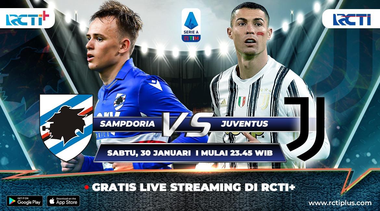 Live Streaming Sampdoria Vs Juventus Bisa Disaksikan Di Rcti Okezone Bola