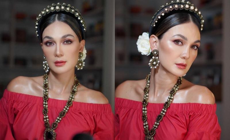 https: img.okezone.com content 2021 02 02 194 2355365 pesona-luna-maya-berbalut-gaun-merah-netizen-cantiknya-beda-bidadari-7BZihARiXK.jpg