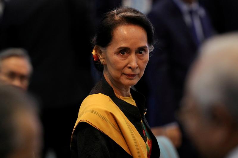 https: img.okezone.com content 2021 02 17 18 2363464 junta-militer-myanmar-jatuhkan-dakwaan-baru-terhadap-aung-san-suu-kyi-61cb9CB7wC.jpg
