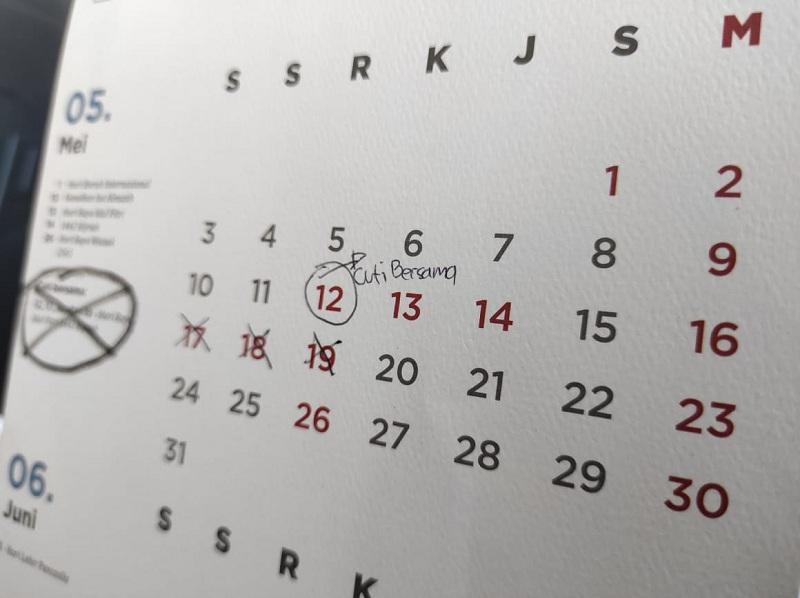 Cuti Bersama 2021 Ditetapkan Hanya 2 Hari, Simak Tanggalnya