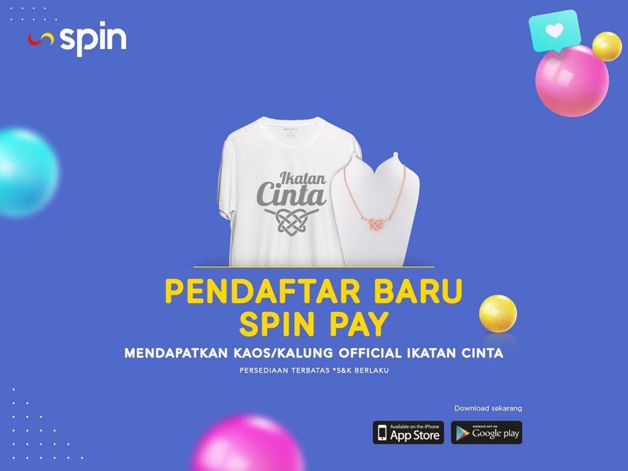 Heboh Spin Pay Bagi Bagi Official Merchandise Ikatan Cinta Untuk Pendaftar Baru Okezone Economy