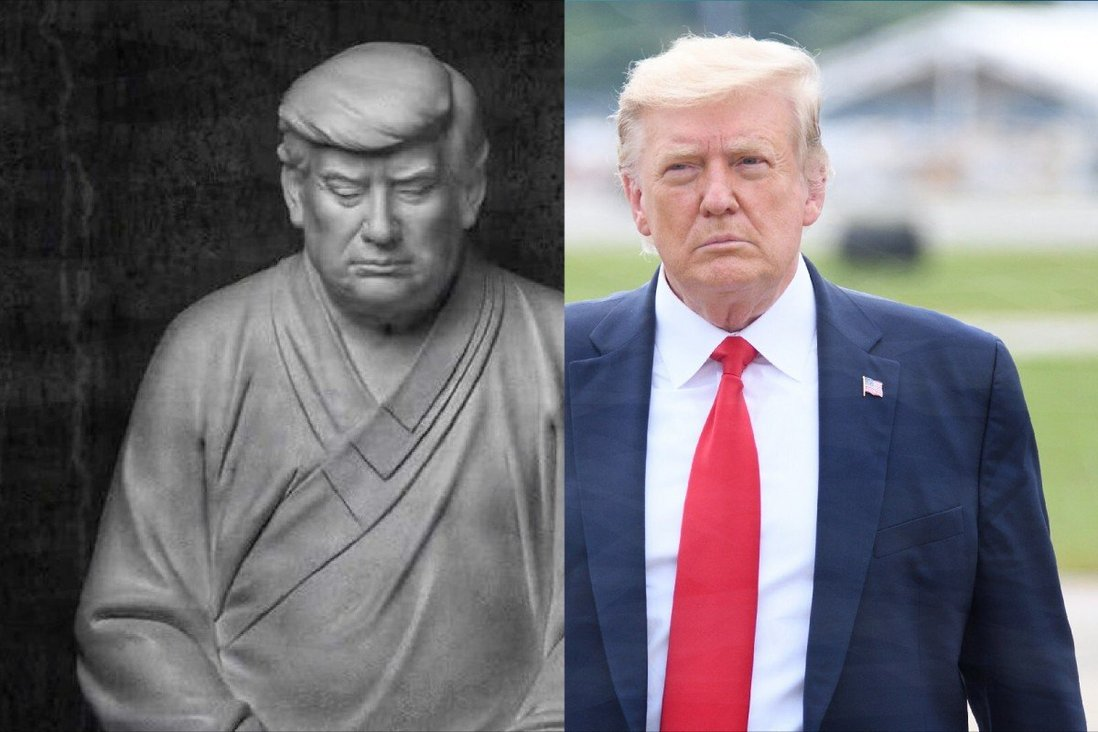 https: img.okezone.com content 2021 03 11 18 2376020 patung-buddha-donald-trump-viral-di-china-tOSGL9BkBg.jpg