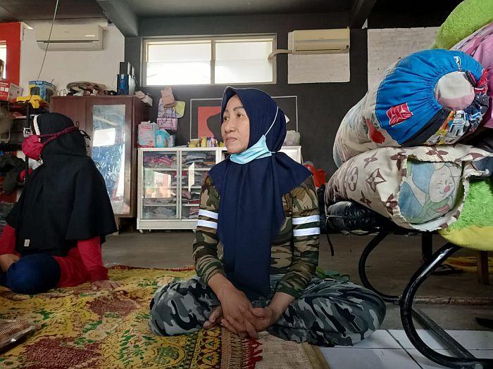 Ancam Ibu dan Anak dengan Golok, Haji Ruli Teranca