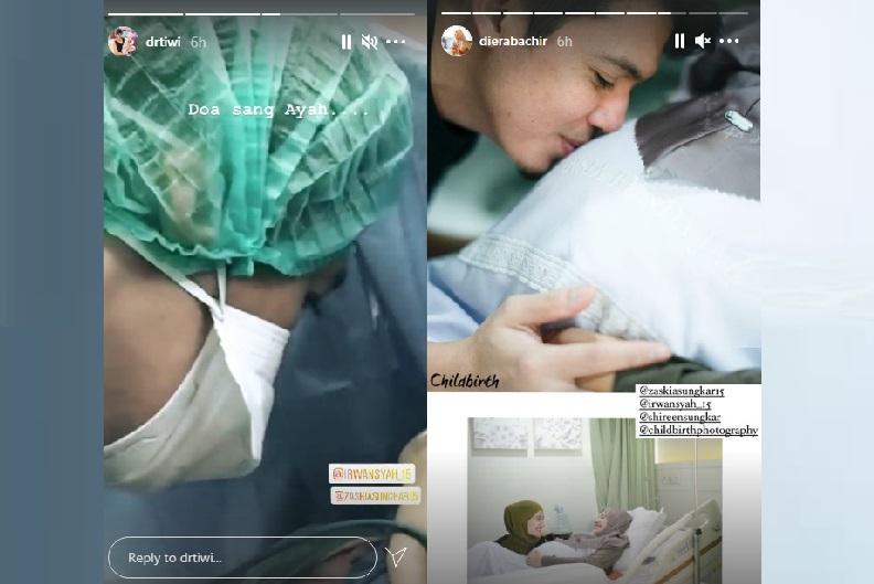 https: img.okezone.com content 2021 03 31 33 2386831 momen-haru-irwansyah-adzani-sang-anak-usai-zaskia-sungkar-melahirkan-75kNFoz6Ew.jpg