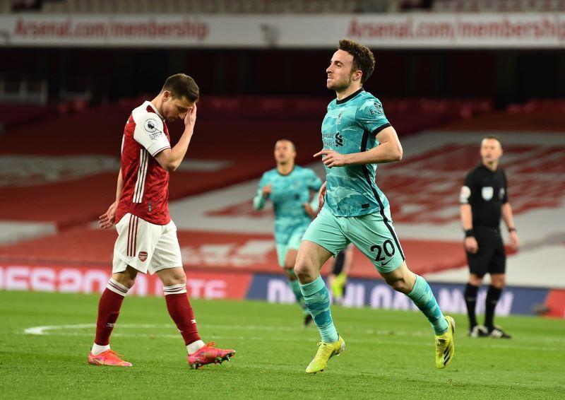 Diogo Jota Terkejut Arsenal Bermain Aneh saat Hadapi Liverpool : Okezone  Bola