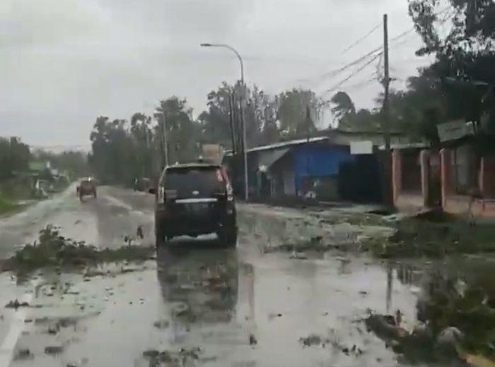 Kondisi Kabupaten Kupang Usai Diporak-porandakan Badai ...