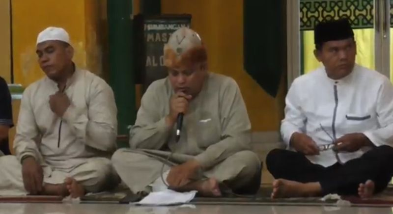 Sambut Ramadan, Jamaah Masjid Osmani Medan Gelar Tahlil Berjamaah : Okezone News