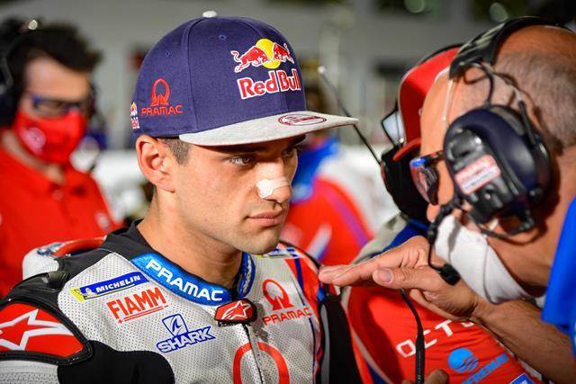 Performa Jorge Martin di MotoGP Doha 2021 Buat Andrea Dovizioso Merinding : Okezone Sports