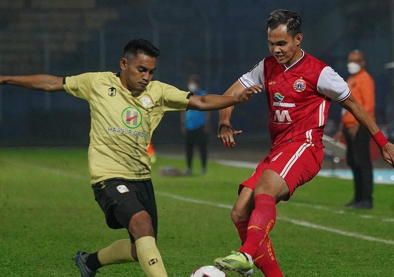 Persija Jakarta dan Barito Putera Masih Sama Kuat di Babak Pertama : Okezone Bola