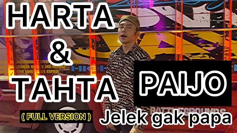 https: img.okezone.com content 2021 04 14 205 2394419 lirik-harta-dan-tahta-jelek-gak-papa-lagu-paijo-yang-viral-di-tiktok-lzLx1eue88.jpeg
