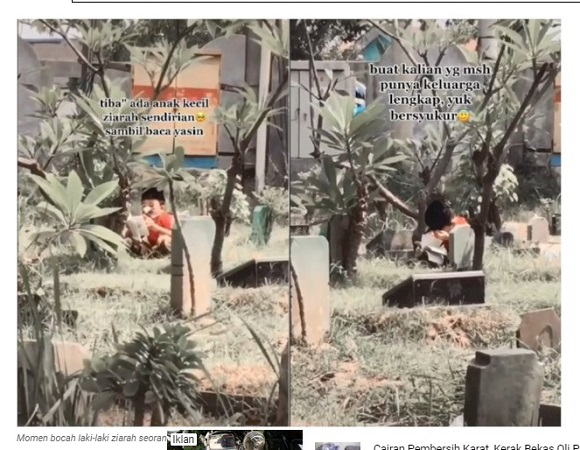 https: img.okezone.com content 2021 04 15 338 2395225 seorang-diri-baca-yasin-di-kuburan-anak-ini-curi-perhatian-warganet-48JHrbwc2X.jpeg