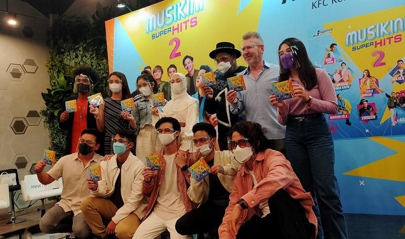 Tiara, Lyodra hingga Virgoun Hiasi Album Kompilasi Musikini Superhits 2