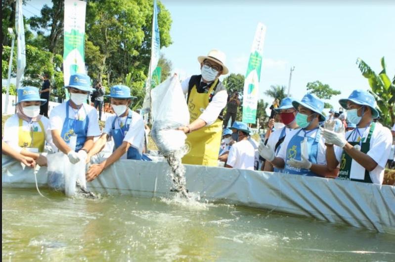 https: img.okezone.com content 2021 04 27 525 2401649 resmikan-kegiatan-pim-ridwan-kamil-sebar-ikan-di-kolam-biofolk-5fV0hir7vx.jpg