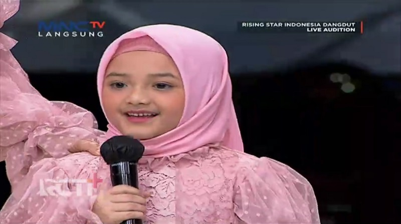 Arsy Hermansyah Ikutan Live Audition Rising Star Indonesia Dangdut, Bikin Gemes : Okezone Celebrity