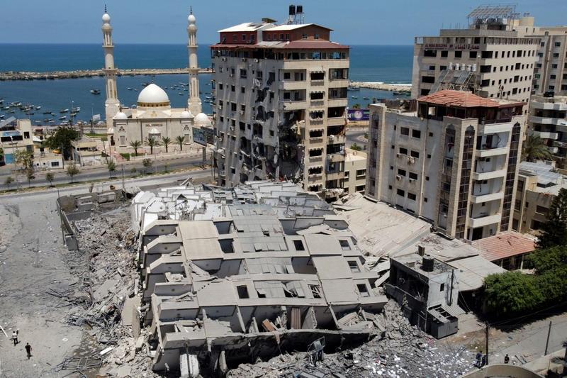 Korban Tewas di Gaza Bertambah Jadi 48, Israel Akan Terus Lanjutkan Serangan : Okezone News
