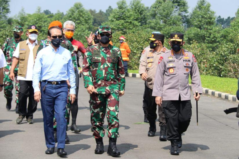 Ini Upaya Panglima TNI, Kapolri dan Kepala BNPB Tekan Kasus Covid-19 di Kudus : Okezone News