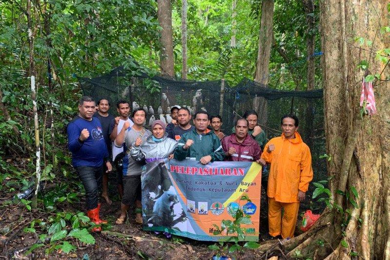 https: img.okezone.com content 2021 06 19 340 2427727 150-satwa-endemik-dilepasliarkan-di-hutan-kepulauan-aru-khJokBttoM.jpg