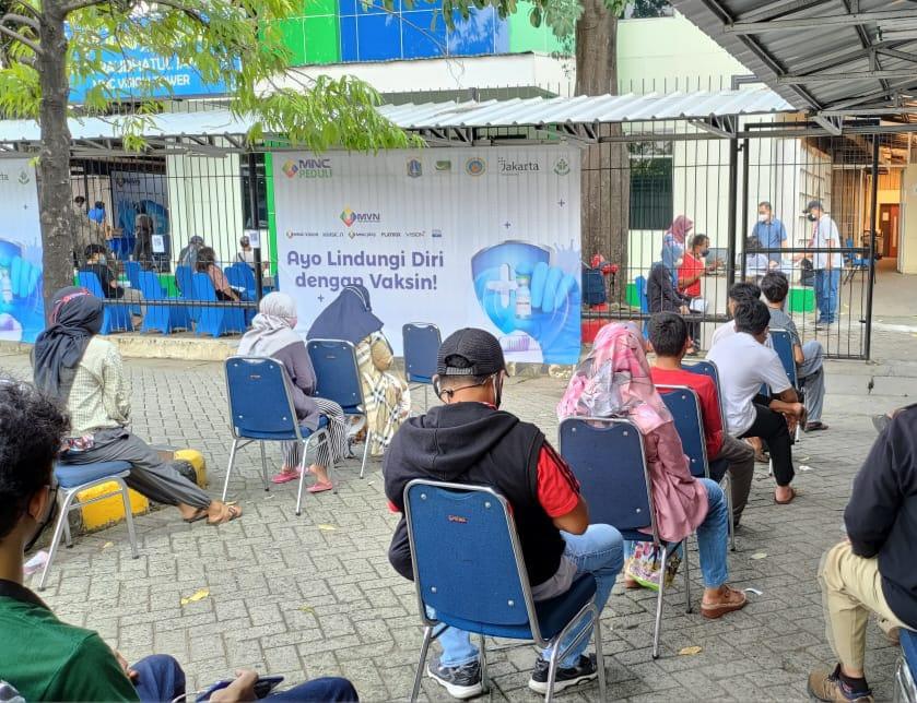 IPTV MNC Vision Networks IPTV Sukses Vaksinasi 2.000 Karyawan & Masyarakat : Okezone Economy