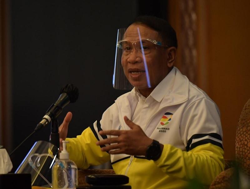 https: img.okezone.com content 2021 07 13 43 2439916 soal-penyelenggaraan-pon-papua-2021-menpora-minta-tiru-sistem-bubble-olimpiade-tokyo-J200erCbtK.jpg
