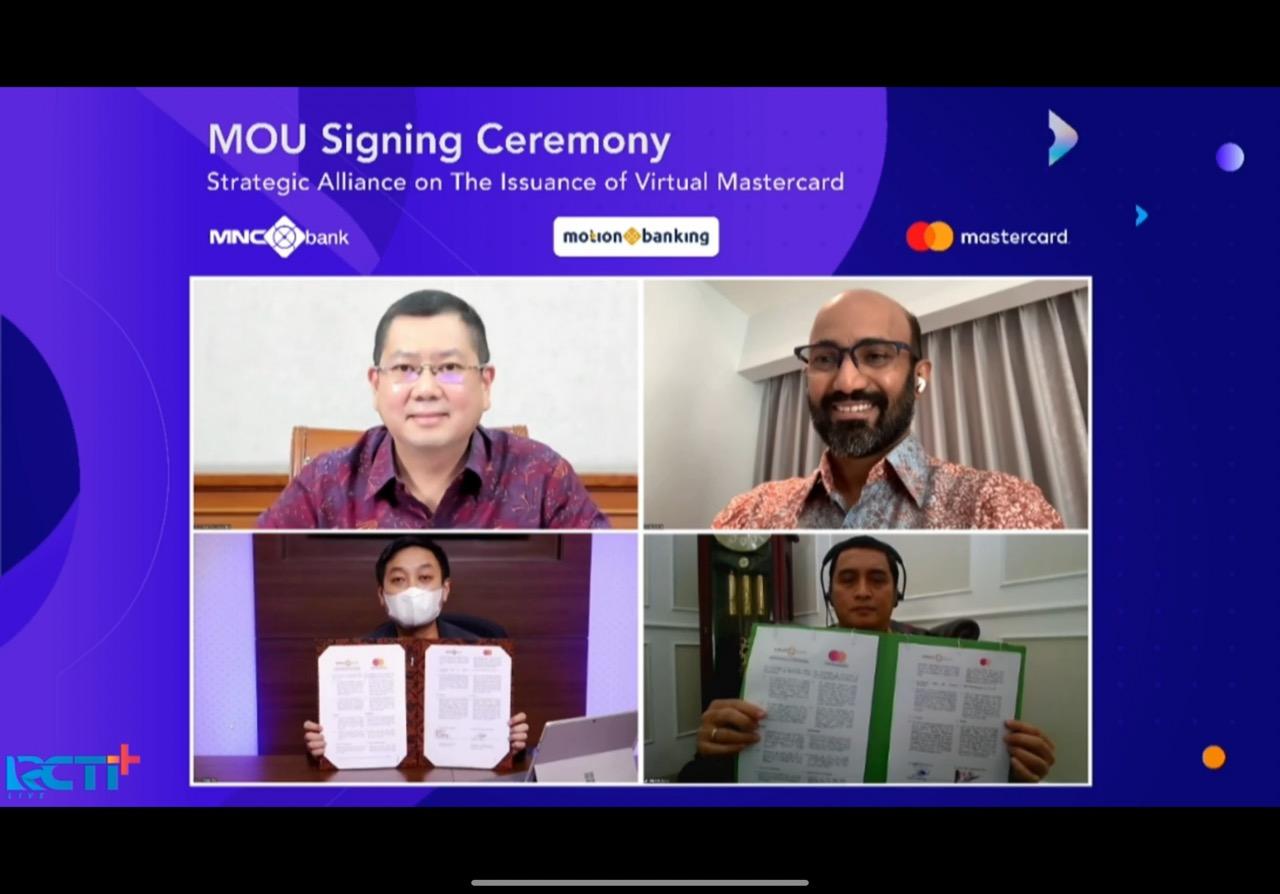 BABP MotionMastercard Pertama di Indonesia, Hary Tanoe: MNC Group Dukung Penuh Pertumbuhan MotionBanking BABP : Okezone Economy