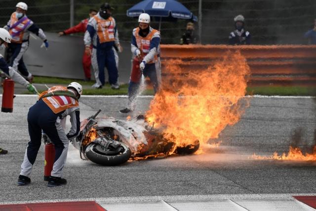 Meski Ada Insiden Motor Terbakar, Manajer Tim KTM Puji Penampilan Dani Pedrosa di MotoGP Styria 2021