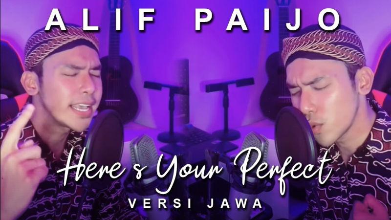 https: img.okezone.com content 2021 08 27 205 2462030 alif-paijo-kembali-viral-di-tiktok-dengan-lagu-here-s-your-perfect-versi-jawa-ihFrvRuLqB.jpg