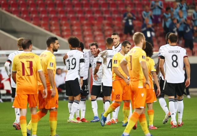 Hasil Kualifikasi Piala Dunia 2022 Jerman vs Armenia: Der Panzer Pesta Gol  : Okezone Bola