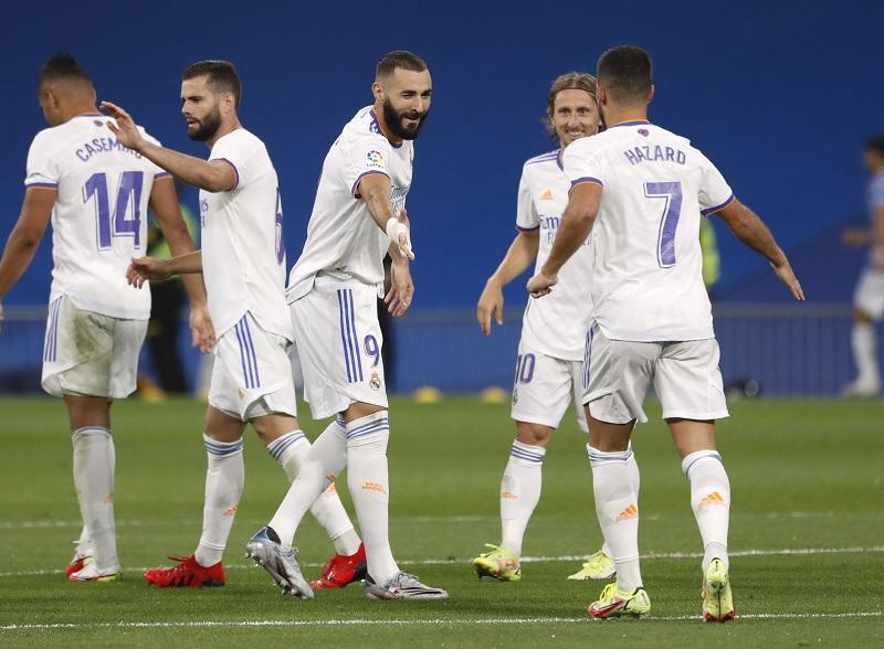Hasil Liga Spanyol Semalam: Real Madrid Bantai Celta Vigo 5-2, Atletico  Madrid Menang Tipis : Okezone Bola