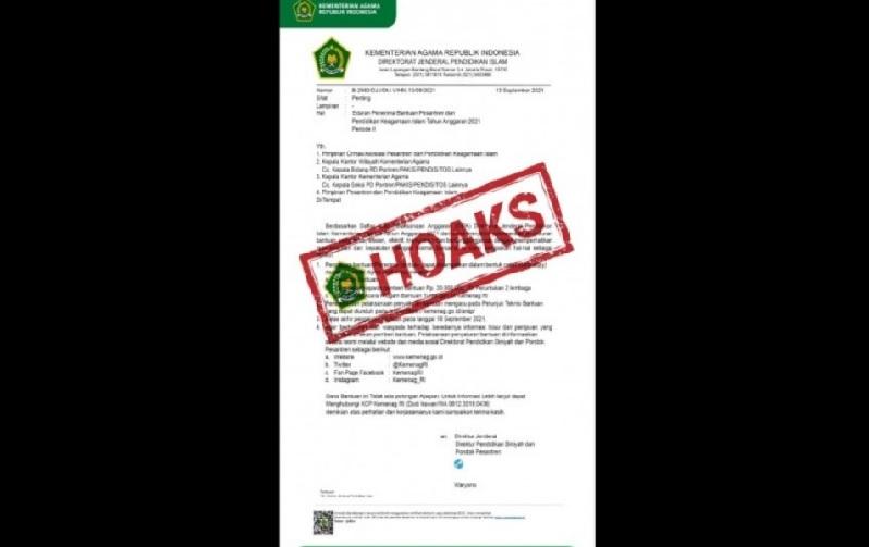 https: img.okezone.com content 2021 09 18 337 2473210 beredar-edaran-bantuan-penerima-bantuan-pesantren-kemenag-pastikan-tak-benar-2l6kvZ16U1.jpg
