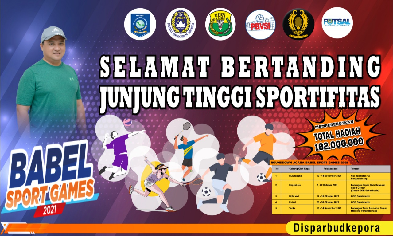https: img.okezone.com content 2021 10 14 1 2486049 disparbudkepora-gelar-babel-sport-games-2021-isLbbnBwoM.jpeg