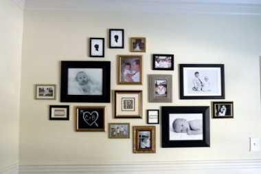 \Mengkreasikan Foto Menjadi Galeri di Dinding \