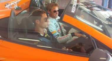 Pembalap F1 Tantang CR7 Taklukkan McLaren 650S