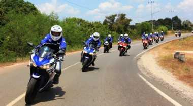 Sensasi Isle of Man TT Pakai Yamaha R25 di Belitung