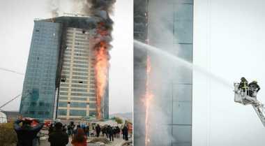 \Hotel Shangri-La Mongolia Terbakar, 23 Orang Terjebak\